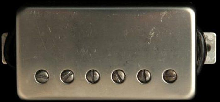 Seymour Duncan Humbucker SH-6B Duncan Distortion Bridge Pickup Nickel Cover, 11102-21-Nc