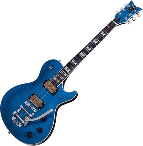 Schecter Solo-6B Electric Guitar Blue Sparkle, 175
