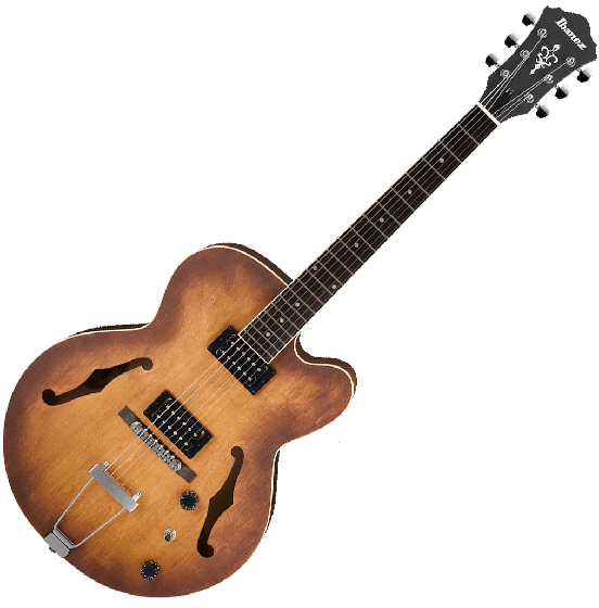 Ibanez Artcore AF55TF Hollow Body Electric Guitar in Tobacco Flat Finish, AF55TF