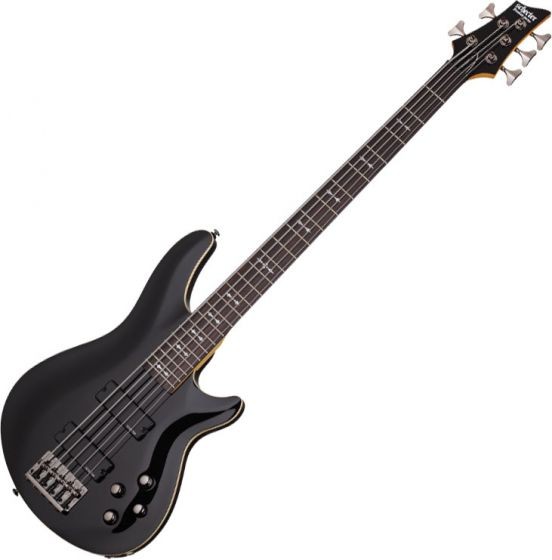 Schecter Omen-5 Electric Bass in Gloss Black Finish, 2093