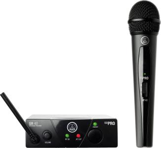 AKG WMS40 Mini Single Vocal Set Wireless Microphone System - Band D, 3347X00140