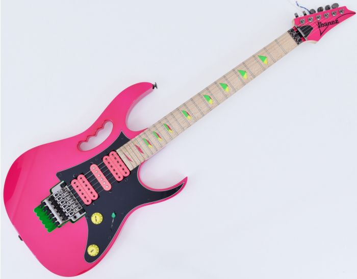 Ibanez Steve Vai Signature JEM777 Electric Guitar Shocking Pink, JEM777SK