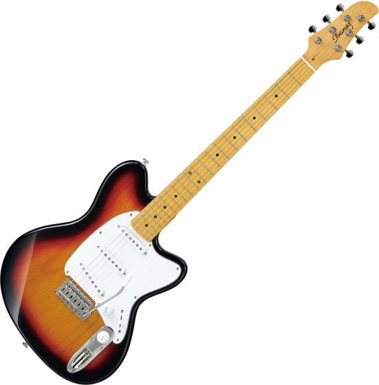 Ibanez Talman Standard TM330M Electric Guitar Tri Fade Burst, TM330MTFB