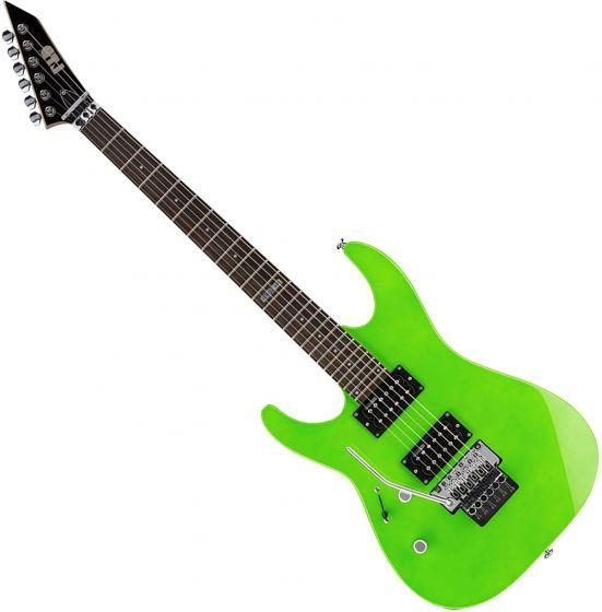 ESP LTD M-50FR Left-Handed Electric Guitar Neon Green[, LM50FRNGRLH]