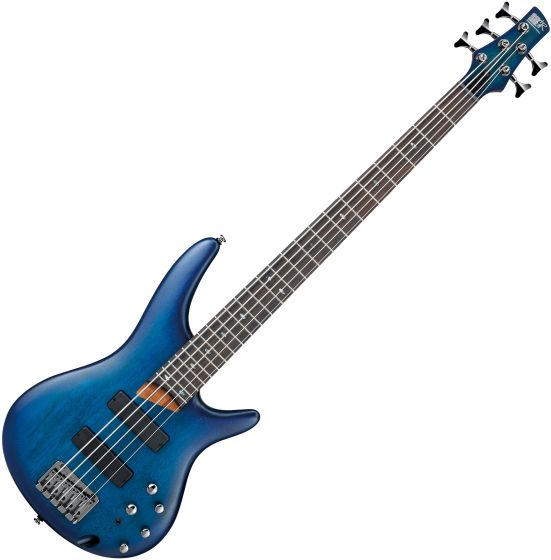 Ibanez SR Standard SR505 Electric Bass Sapphire Blue Flat, SR505SBF