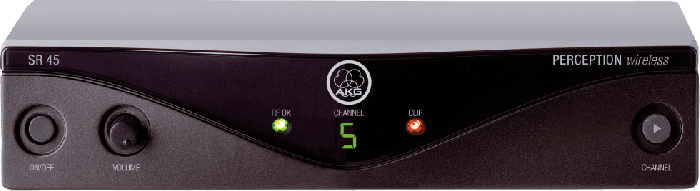AKG SR45 High-Performance Wireless Stationary Receiver - Frequency U5, 3245H00090