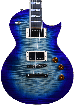 ESP USA Eclipse Limited Edition Electric Guitar in Violet Shadow, EUSECFMVSHS