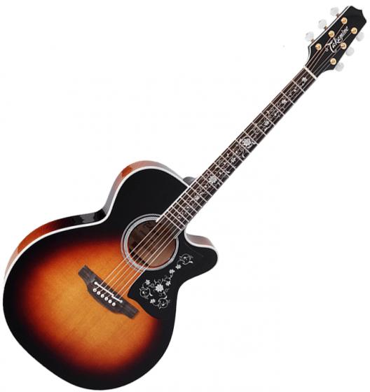 Takamine EF450C-TT NEX Acoustic Guitar Brown Sunburst B-Stock, TAKEF450CTTBSB.B