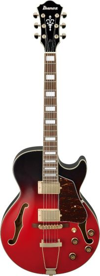 Ibanez AG75G SCG AG Artcore Scarlet Gradation Semi Hollow Body Electric Guitar[, AG75GSCG]