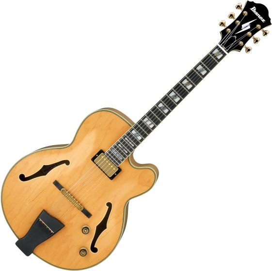 Ibanez Pat Metheny Signature PM200 Hollow Body Electric Guitar Natural, PM200NT