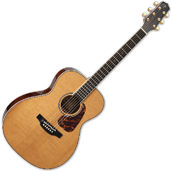 Takamine CP7MO-TT Pro Orchestra Model Thermal Top Acoustic Guitar in Natural, TAKCP7MOTT