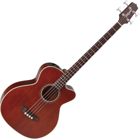 Takamine PB5 Acoustic Electric Bass Gloss Aged Natural Stain, TAKPB5ANS