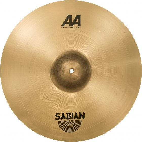"Sabian 20"" AA Raw Bell Crash, 2200772"