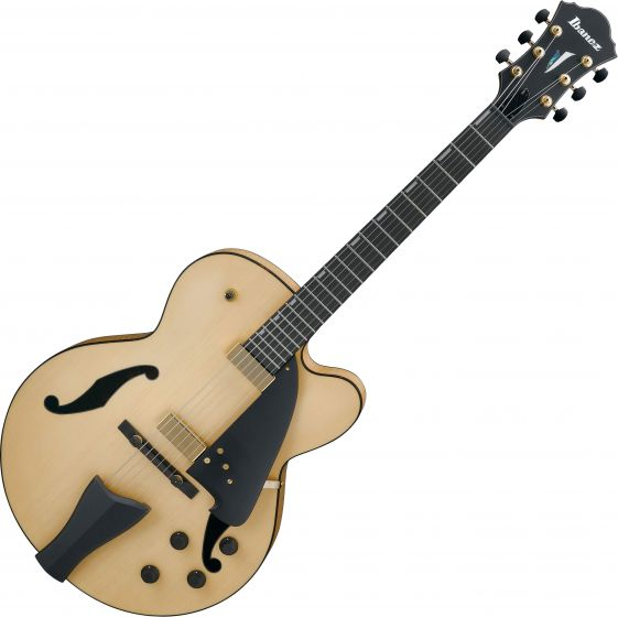 Ibanez AFC Contemporary Archtop AFC95NTF Electric Guitar Natural Flat[, AFC95NTF]
