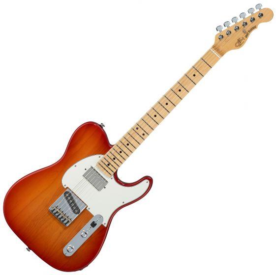 G&L ASAT Classic Bluesboy USA Fullerton Deluxe in Cherry Burst, FD-ASTCB-CHY-MP