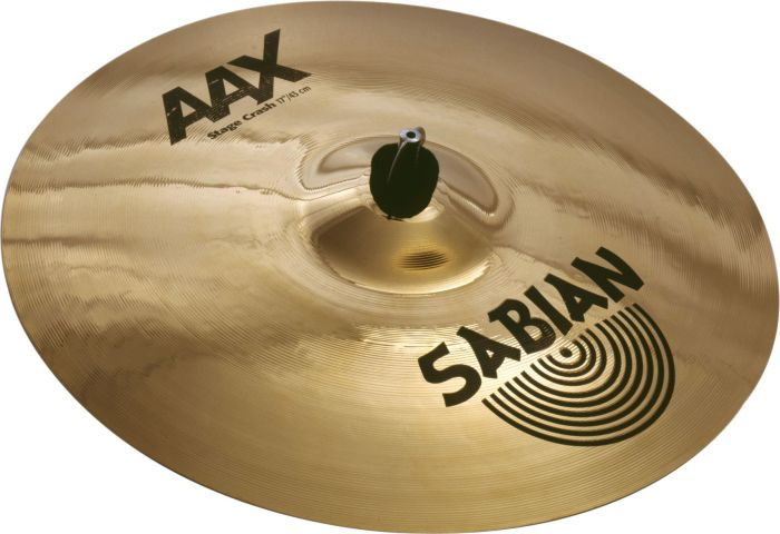 "Sabian 17"" AAX Stage Crash Brilliant Finish, 21708XB"