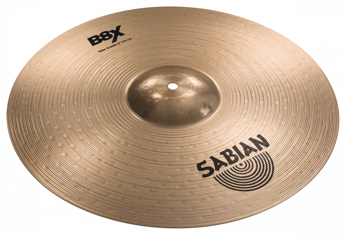 "Sabian 17"" B8X Thin Crash, 41706X"