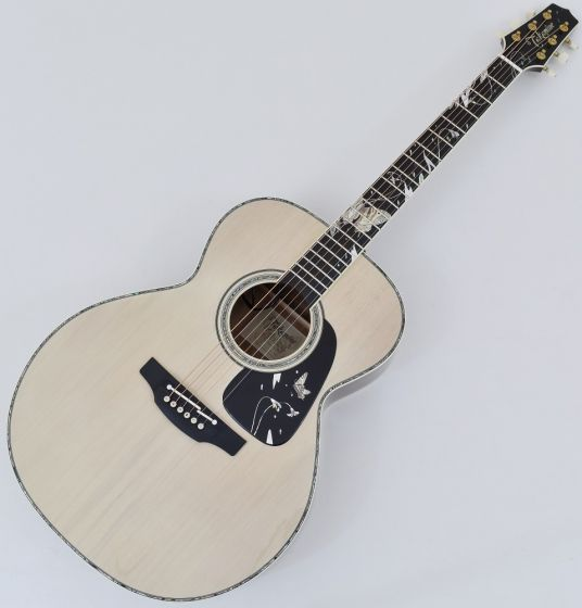 Takamine LTD 2018 Gifu-Cho NEX Acoustic Guitar Glossy Lift-Out Antique White, TAKLTD2018GIFUCHO