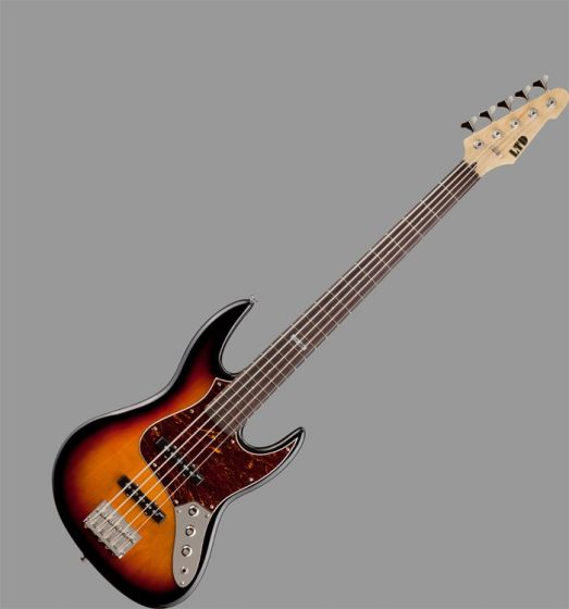 ESP LTD J-205 Bass Guitar in 3 Toneburst Finish[, J-205-3TB]