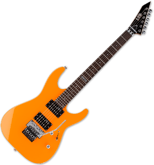 ESP LTD M-50 Electric Guitar in Neon Orange Finish[, LTD M-50 NOR]