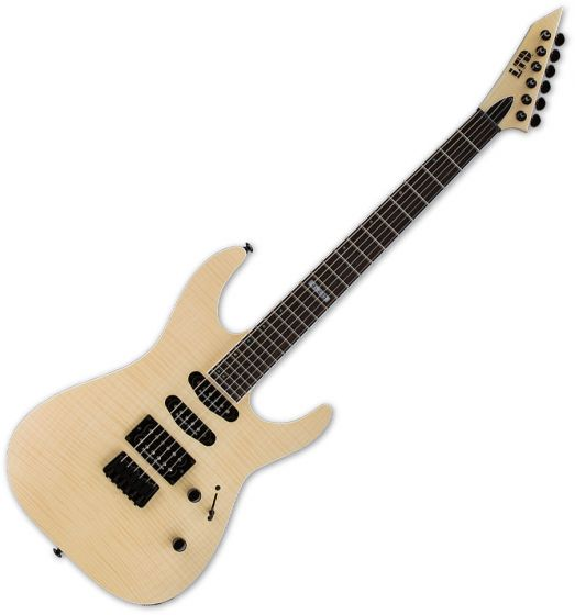 ESP LTD M-403HT Flamed Maple Top Electric Guitar Natural Satin, LM403HTFMNS