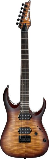 Ibanez RGA Standard RGA42FM DEF Dragon Eye Burst Flat Electric Guitar, RGA42FMDEF