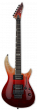 ESP E-II Horizon-III FR Black Cherry Fade Electric Guitar w/Case, EIIHOR3FMFRBCHFD