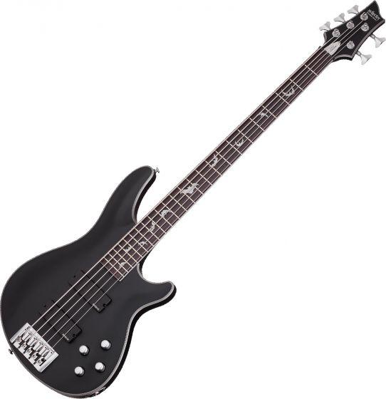 Schecter Damien Platinum-5 Electric Bass Satin Black, 1201