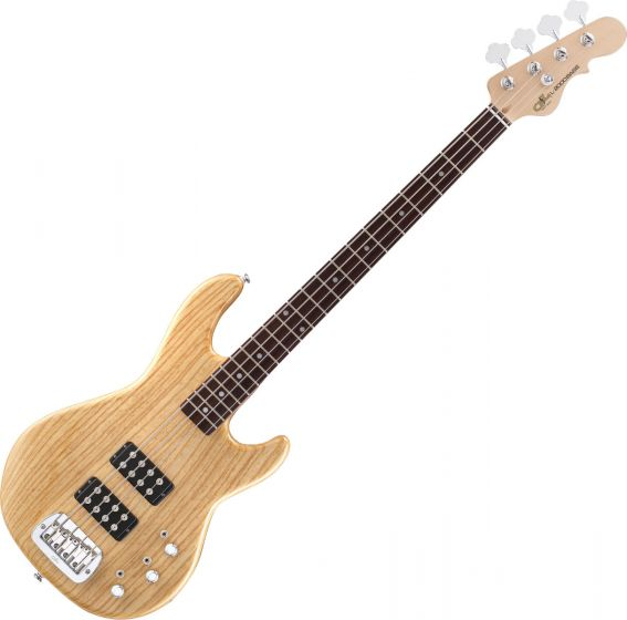 G&L Tribute L-2000 Bass Guitar in Natural Gloss Finish Flawless Store Demo, L2000.RW.NAT-B