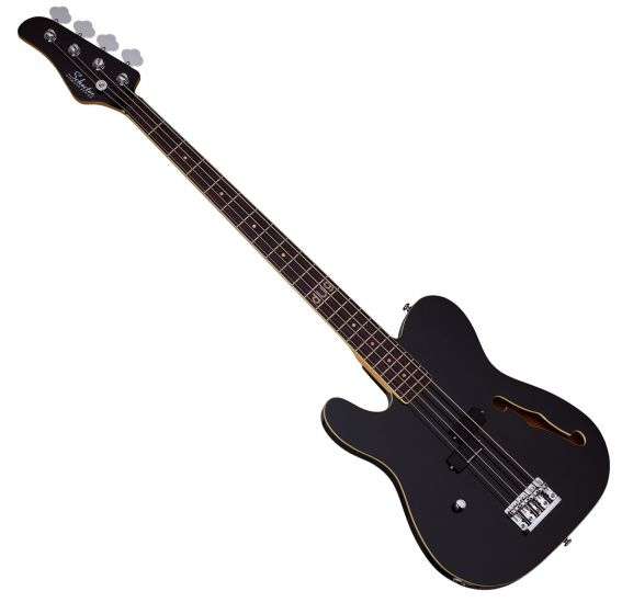 Schecter Signature dUg Pinnick Baron-H Left-Handed Electric Bass Gloss Black, 263
