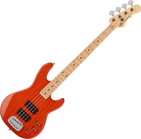 G&L Tribute L-2000 Electric Bass Clear Orange, TI-L20-122R46M00