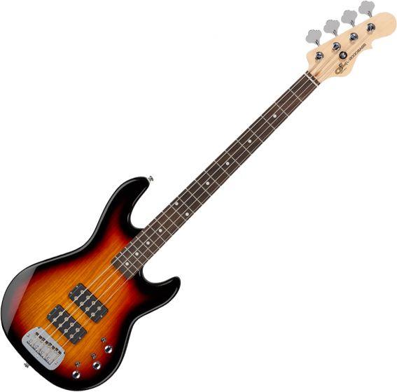 G&L Tribute L-2000 Electric Bass 3-Tone Sunburst, TI-L20-120R20R00