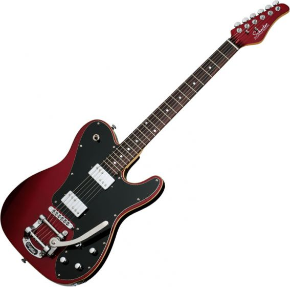 Schecter PT Fastback II B Electric Guitar in Metallic Red Finish, 2211