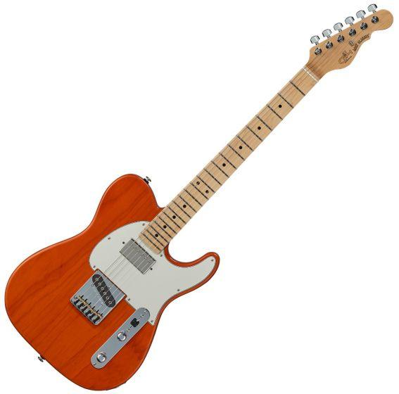 G&L ASAT Classic Bluesboy USA Fullerton Deluxe in Clear Orange Maple, FD-ASTCB-ORG-MP