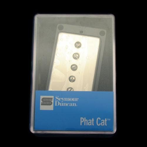 Seymour Duncan SPH90-1B Phat Cat Bridge Pickup(Nickel Cover), 11302-16-NC