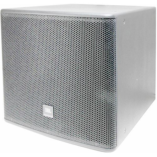 JBL AC118S 18 High Power Subwoofer System White, AC118S-WH