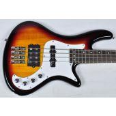 Schecter Stiletto Vintage-4 Electric Bass 3-Tone Sunburst B-Stock