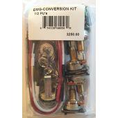 EMG 1-2 Pickup Conversion Wiring Kit Solderless w/ Free Guitar Tuner