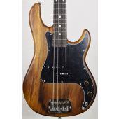 G&L LB-100 USA Custom Monkey Pod Electric Bass in Natural Satin Finish