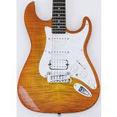 G&L USA Legacy HSS Custom Guitars in Honey Burst with Case. Brand New!