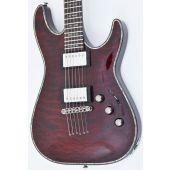 Schecter Hellraiser C-1 P Electric Guitar Black Cherry Prototype
