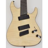 Schecter C-7 Multiscale SLS Elite Electric Guitar Gloss Natural