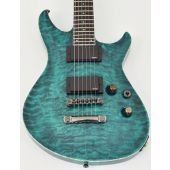 ESP Formula NT Electric Guitar in See Thru Turquoise