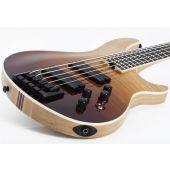 Schecter SLS ELITE-5 Electric Bass in Antique Fade Burst