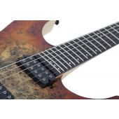 Schecter Reaper-6 Electric Guitar in Satin Inferno Burst