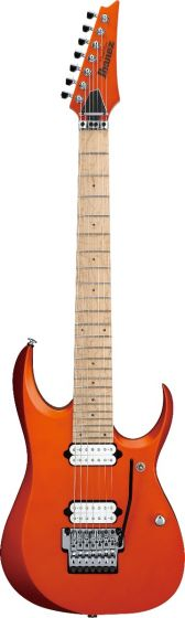 Ibanez RGD Prestige 7 String Roadster Orange Metallic Flat RGD3127 ROF Electric Guitar w/case, RGD3127ROF