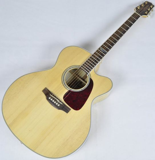 Takamine GJ72CE-NAT Cutaway Acoustic Electric Guitar in Natural Finish B-Stock, TAKGJ72CENAT B-Stock