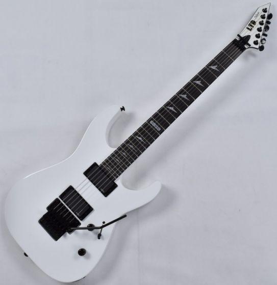 ESP LTD Deluxe M-1000E Electric Guitar in Snow White B-Stock, LTD M-1000E.B