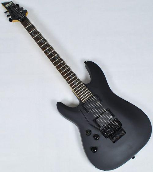 Schecter Damien-6 FR Left Handed Electric Guitar Satin Black, 1608