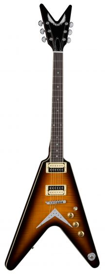 Dean V 79 Flame Top Trans Brazilia Electric Guitar V 79 TBZ, V 79 TBZ